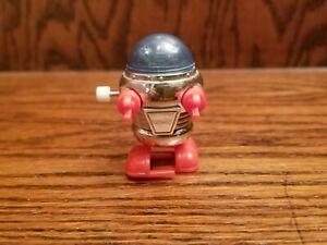 Vintage 1978 Tomy Lost In Space Robot Wind Up Walking Blue Top Excellent Works