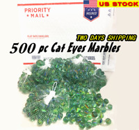 """Lot 500 Bulk Wholesale Glass Marbles For Sling Shot Ammo 5/8"""" 6lbs"""