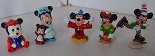 Vintage Mickey Minnie Mouse Disney Figures Toys  Lot 5