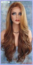 Lace Front Wig CLR FS8.27.613 LONG FLOWING  WAVES SEXY USA SELLER FAST SHIP 182