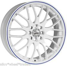"15"" WB MOTION ALLOY WHEELS FITS 4x100 ROVER SEAT SUZUKI VOLKSWAGEN MODELS"