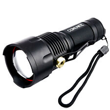 COMUNITE 3000LM CREE XM-L U2 LED Zoomable Tactical 26650/AA Flashlight Torch
