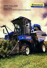 New Holland Braud 9090X 2012 catalogue brochure  rare