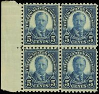 586, Mint NH 5¢ F-VF Wholesale Lot of Ten Stamps Cat $375.00 - Stuart Katz
