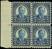 586, Mint NH 5¢ F-VF Wholesale Lot of Ten Stamps Cat $375.00 - Stuart Katz
