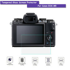 9H Tempered Glass Screen Shield Protector Film For Canon EOS M5 Accessories