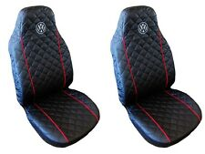 Seat Covers Volkswagen VW Golf Passat 2 3 4 5 Sharan Bora Polo Caddy RED PIPING