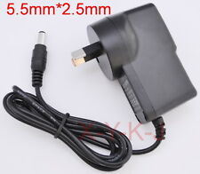 AC 100V-240V Adapter DC 12V 1A Switching Power Supply 1000mA AU 5.5mm x 2.5mm