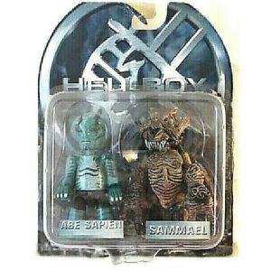 Hellboy ABE Sapien & Samael` Mez-It ´2x Figurine PVC 7cm Mezco