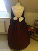 VICTORIAN/ CIVIL WAR/THEATER BUDGET SKIRT & SHAWL ANY SIZE ANY COLOUR COMBO
