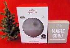 2016 HALLMARK Death Star Tree Topper - Disney STAR WARS Ornament New in Box