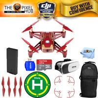 DJI Ryze Tech Tello Quadcopter Iron Man Edition Drone With Case SD Card And More