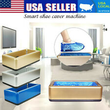 Cleaning Automatic Shoe Cover Dispenser Overshoe Machine Home Office Disposable