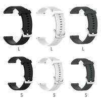 Soft Silicone Wristband 22mm Watch Strap for Garmin Vivoactive4 Accessories