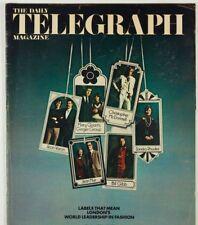 AMANDA LEAR Mary Quant BILL GIBB Zandra Rhodes JEAN MUIR Varon TELEGRAPH 5/ 1973