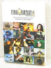 FINAL FANTASY IX 9 Memorial Album Guide Art Scenario Book DC85*