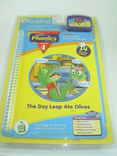 The Day Leap Ate Olives (2002, Paperback) LeapPad book and cartridge NEW