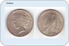 UN DOLAR DE PLATA AÑO 1922     ESTADOS UNIDOS   ( MB11097 )