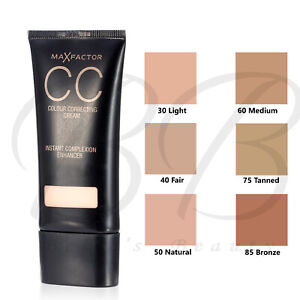 MAX FACTOR CC Colour Correcting Cream with SPF10 30ml NEW SEALED *CHOOSE SHADE*
