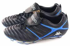 Kappa Mens Vintage Azzurri Furius TX Soccer Cleat Black & Blue Leather Size 7.5