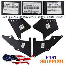 Splash Shield For Toyota FJ Cruiser Apron Fender Liner Seal Flap Guard 2007-2014