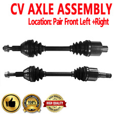 Pair Front CV Axle Shaft for TOWN&COUNTRY 08-10 V6 4.0L 3952cc 241cid FWD