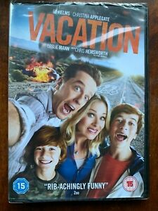 Vacation DVD 2015 Road Trip Movie Comedy w/ Ed Helms and Christina Applegate