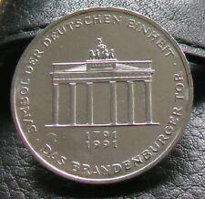 10 DM Gedenkmünze >Brandenburger Tor< 1991 - Neu und unzirkuliert