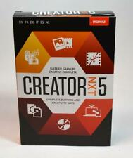 NEW Roxio Creator NXT 5 Complete Burning and Creativity Suite Retail sealed