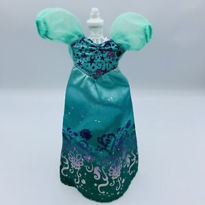 """Disney Royal Shimmer Princess Ariel Doll Replacement Dress Gown 11"""" Doll 2015"""