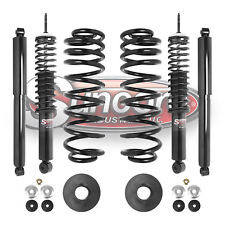 1997-2002 Ford Expedition 4WD Front & Rear Air to Coil Springs and Shocks Kit
