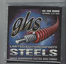 GHS ISB-L5000 40-102 LIGHT Limited Edition Infinity Steels Bass Strings USA