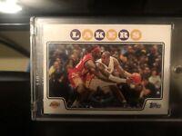 2008-09 Topps #24 KOBE BRYANT (W/Lebron James) Lakers HOF Iconic 🔥HOT CARD🔥