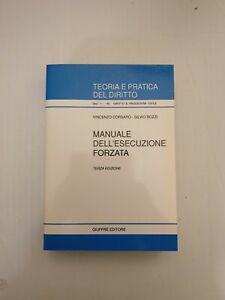 Manuale Dell'esecuzione Forzata Giuffrè 1996