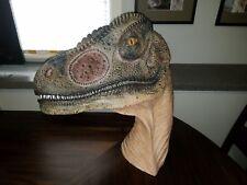 Huge Life Size Velociraptor Raptor Bust Custom Statue Jurassic Park World
