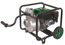 Motopompe gros débit 60 m3/h 6,5CV pour irrigation anti incendie sur roues
