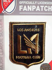 Official Embroidered MLS Soccer Los Angeles FC Logo Iron or Sew On Patch