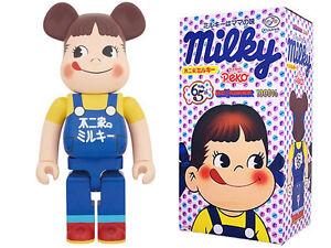 Medicom Toy Be@rbrick Bearbrick Peko-Chan Blue 1000% Fujiya 65th anniversary New