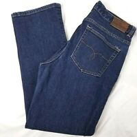Lauren Ralph Lauren Jeans Sz 8 Womens Classic Straight Stretch Denim Blue 29x28