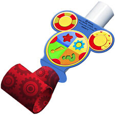MICKEY MOUSE Playtime BLOWOUTS (8) ~ Birthday Party Supplies Favors Disney Red