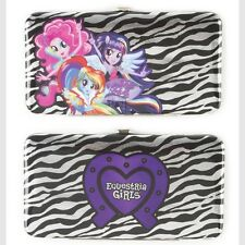 My Little Pony Wallet Equestria Girls Hardcase Hasbro Pinkie Pie Rainbow Dash