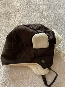 EUC JANIE AND JACK BROWN BOYS HAT 4T-5T