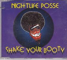 Nightlife Posse-Shake Your Booty cd maxi single