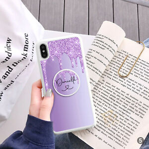 For iPhone Samsung Huawei Personalised Phone Case Cover And Text Holder 144-5
