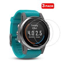For Garmin Fenix 5S Smart Watch 3 x Tempered Glass Screen Protector