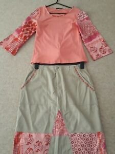 oui set skirt and top size 16