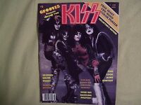 KISS 1978 Grooves magazine with Giant poster Frehley Simmons Criss Stanley