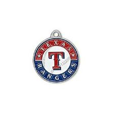 MLB® New York Yankees 18x17mm White and Blue Pewter Charm  2 Per