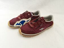 vintage roos sneakers toddler size 9 deadstock NIB 80s shoes kangaroos