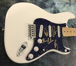 GFA OAR Marc Roberge x4 Heaven * O.A.R. * Band Signed Electric Guitar PROOF *COA